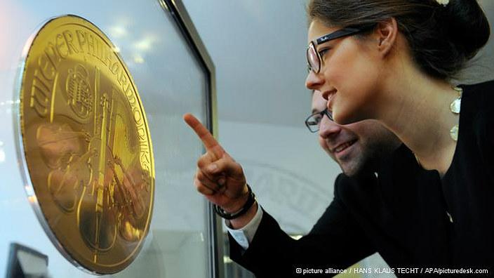Самая тяжелая золотая монета