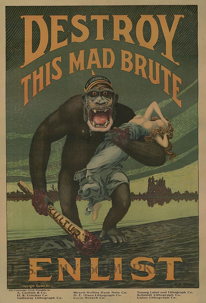 Американские плакаты Первой мировой войны