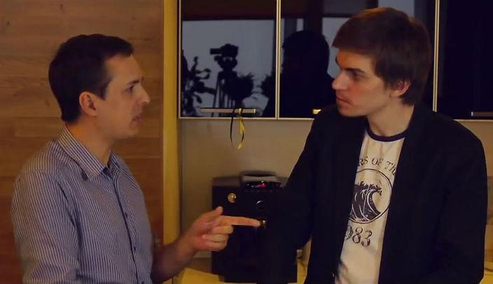 Денис Балуев и Илья Кабанов