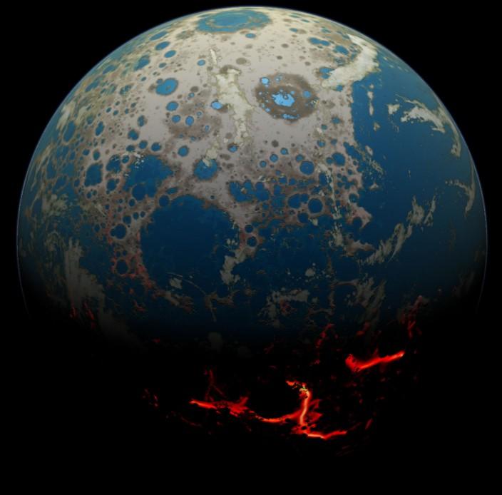 Как выглядела Земля 4 миллиарда лет назад