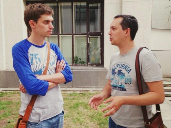 Илья Кабанов и Денис Балуев