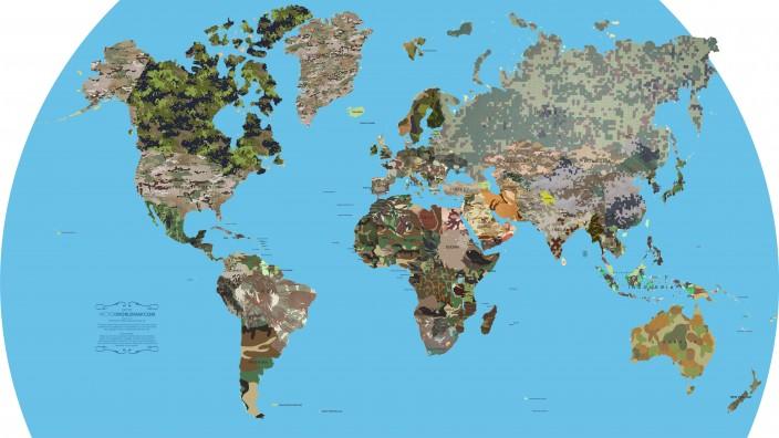 Карта камуфляжа