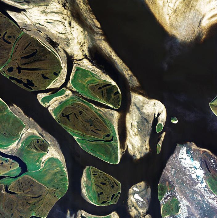 20 лучших фотографий России из космоса
