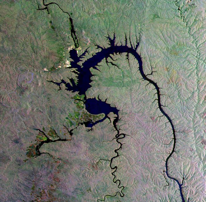 20 лучших видов России из космоса