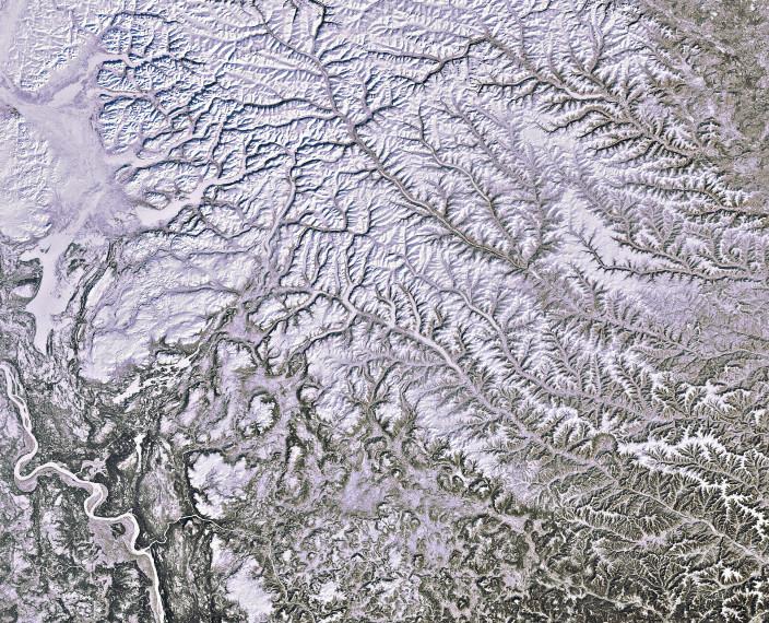 Зимняя Сибирь