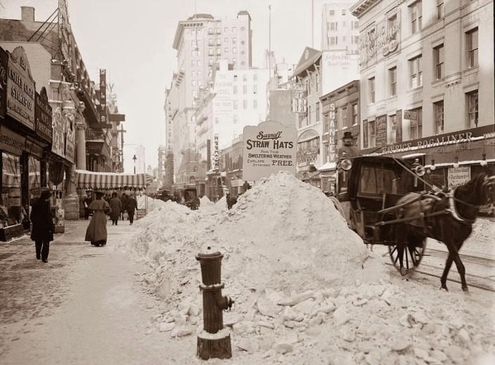 Бродвей в 1905 году